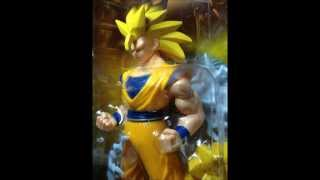Dragonball Z Toy Collection -- Power Boosters / Muscle Action Figures