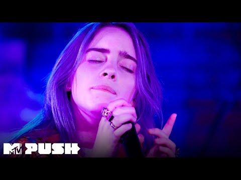 Billie Eilish Performs 'xanny' (Live Performance) | MTV Push
