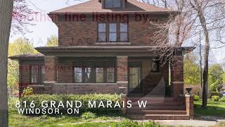 816 Grand Marais W, Windsor ON | 4 Bedrooms | House for Sale