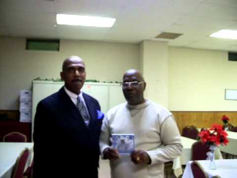 Linwood Heath Interviews Prof. Brockington At Christmas Service 12/11/2010