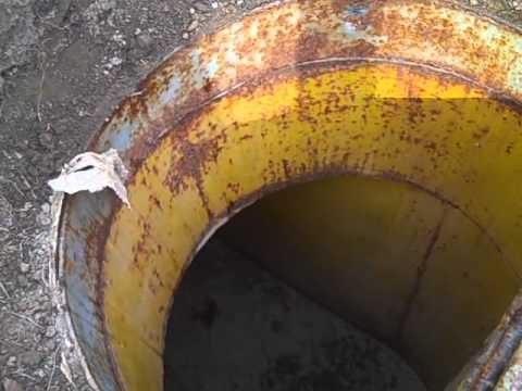 Inside our backyard Bomb Shelter YouTube