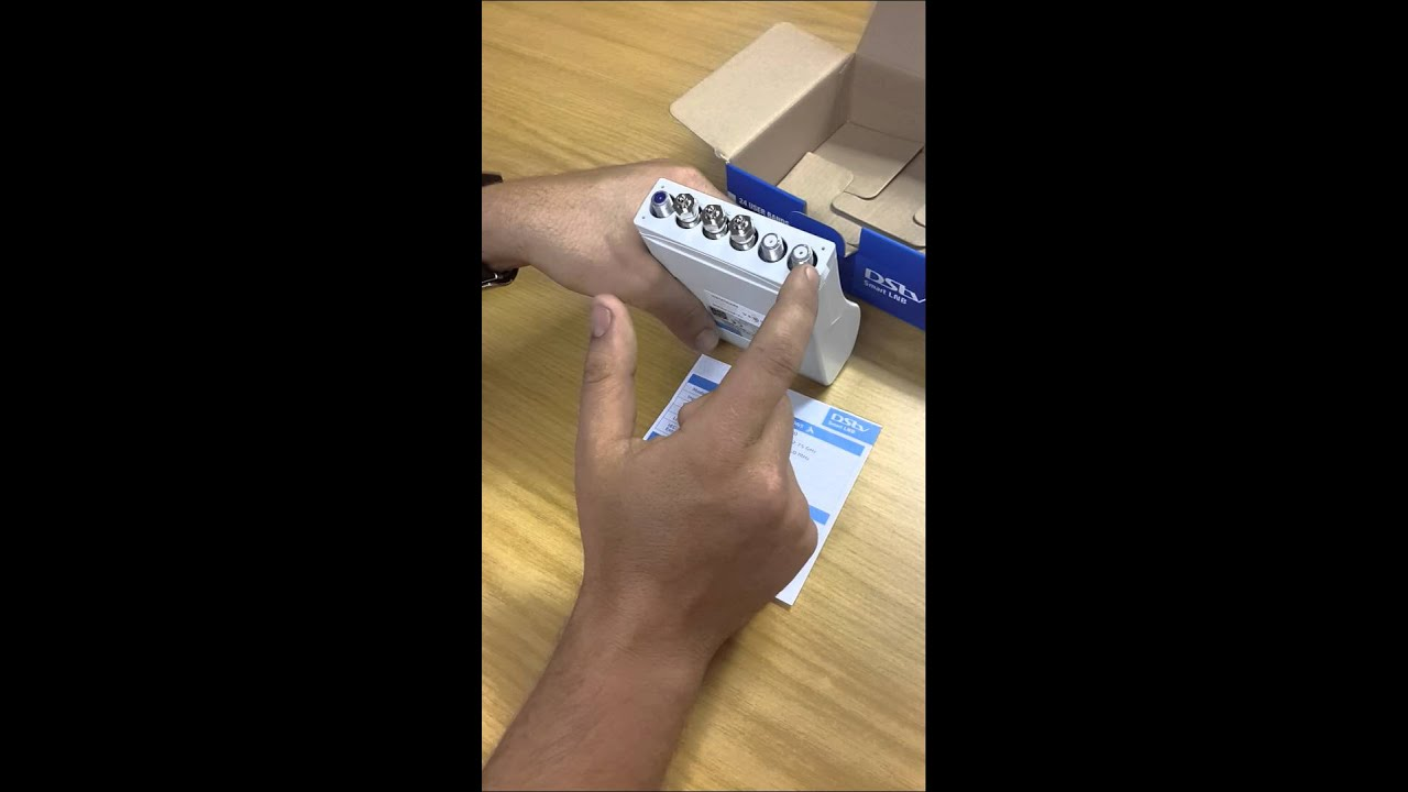 small resolution of unboxing the dstv smart lnb