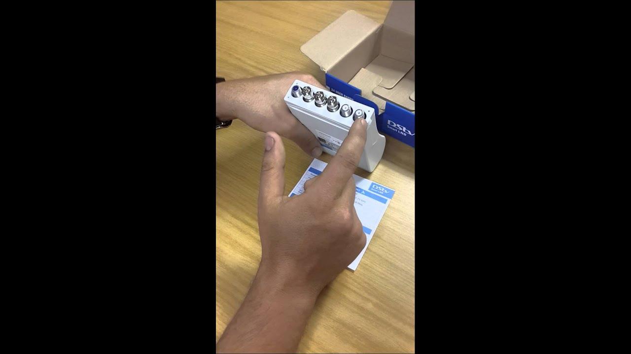 hight resolution of unboxing the dstv smart lnb