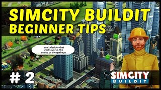 BEGINNER TIPS & TRICKS - SimCity BuildIt iOS iPhone, Android - Ep2