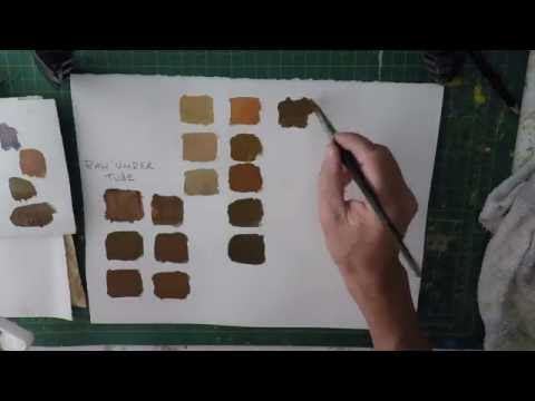How to make brown out of paint