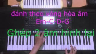 Hướng dẫn đệm bài Ngỡ Remix phần 2 - thầy chí Dũng 0977369565