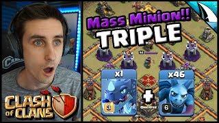 *CRAZY* Mass Minion Triple!! War Recap WHF vs OneHive | Clash of Clans