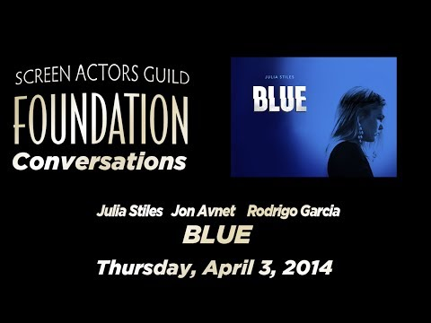 Conversations with Julia Stiles and co-creators Jon Avnet and Rodrigo Garcia of BLUE