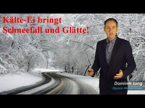 Wetter kippt: Kälte-Ei bringt Deutschland starken Schneefall, Frost und Glätte! (Mod.: Dominik Jung)