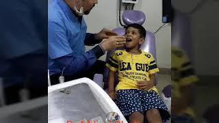 Magic thumb light for Behaviour management in Pediatric dentistry