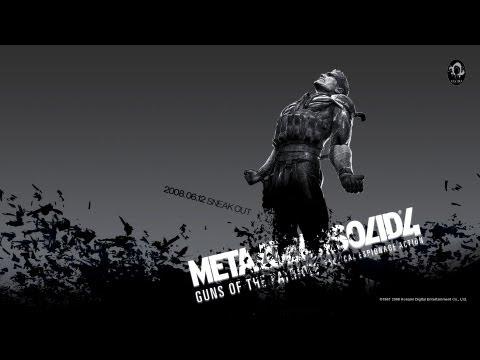 Metal Gear Solid 4: Guns of the Patriots (MGS 4) Прохождение с русскими субтитрами #1