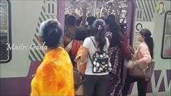 My mumbai local journey from borivali to vile parle| Maitri Gada |