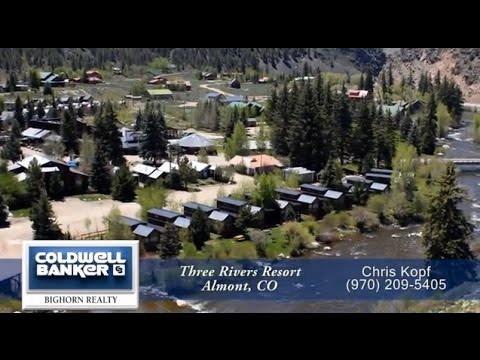 Three Rivers Resort Almont Colorado Riverfront Cabins