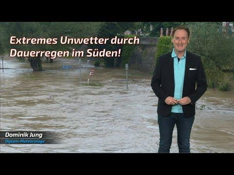 Unwetter bringen Überschwemmungen und Sturzfluten! (Mod.: Dominik Jung)