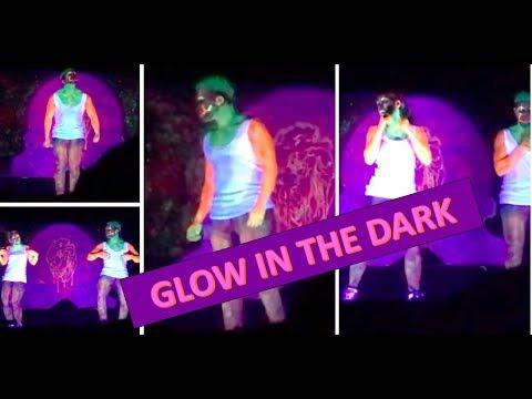 Glow in the Dark fusion dance