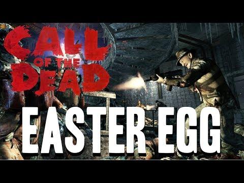 """Call Of The Dead: """"Ensemble Cast"""" Easter Egg Co-Op Full Walkthrough"""