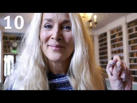 Jerry Hall Demonstrates the Beauty of Copper