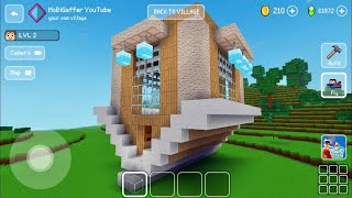 Block Craft 3D: Building Simulator Games For Free Gameplay#1709 (iOS& Android) | Upside Down House🏠