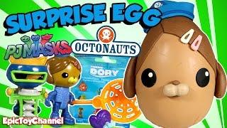 OCTONAUTS SURPRISE EGG + NEW Disney Octonauts Toys of Kwazii and Dashi + Surprise Eggs Opening