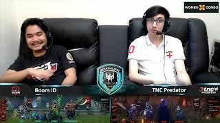 TNC Predator vs Boom ID Game 1 (BO3)   Asia Pacific Predator League Grand Finals