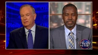 bill o reilly to ben carson are you really a creationist