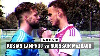 FIFA SKILL GAMES BATTLE #2 | NOUSSAIR MAZRAOUI vs KOSTAS LAMPROU