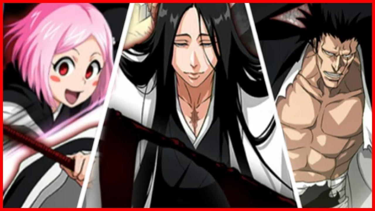Bleach Bankai Kenpachi & Bankai Unohana?! In Anime