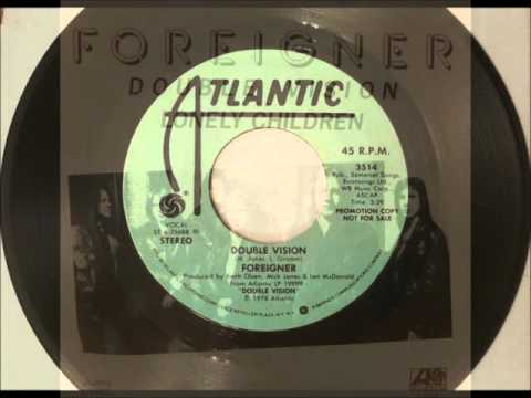Double Vision , Foreigner , 1978 Vinyl 45RPM