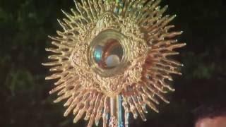 Adoracion a Jesus Sacramentado, en la Santisima Trinidad, al final del concierto