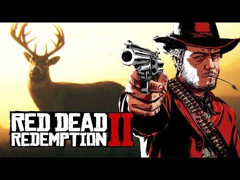 Мэддисон играет в Red Dead Redemption 2 - \