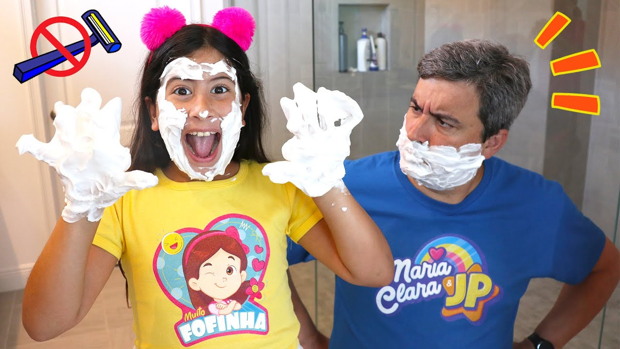 Maria Clara e JP aprendem regras de comportamento em casa | Rules of conduct for children