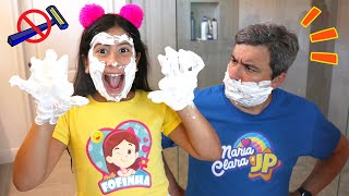 Maria Clara e JP aprendem regras de comportamento em casa | Rules of conduct for children