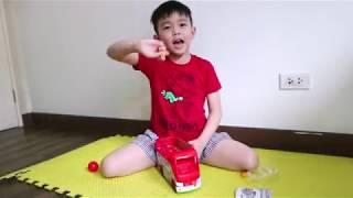 MY FIRST EVER VIDEO! - Smashers Zuru Basketball Bus
