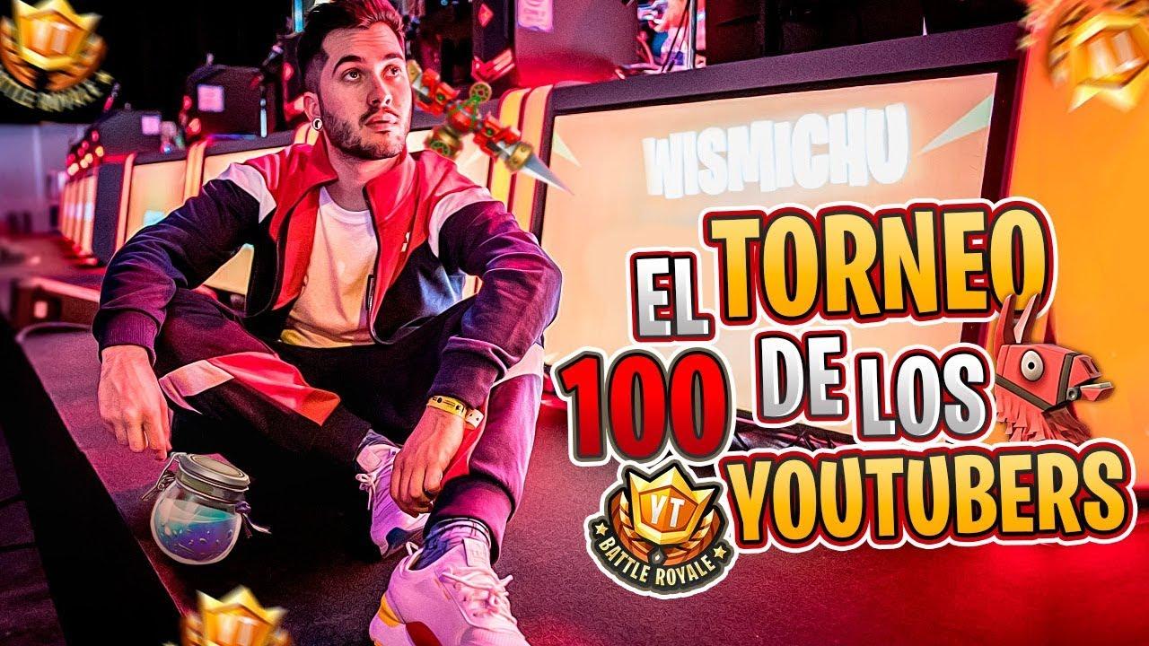100 YOUTUBERS Y UN TORNEO