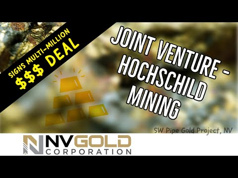 NV Gold | Signs 10 Million Earn-In Option Agreement!