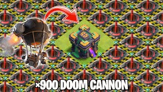 DOOM CANNON Full Base Vs All Max Level Troops On Coc | TH 14 | Clash Of Clans |