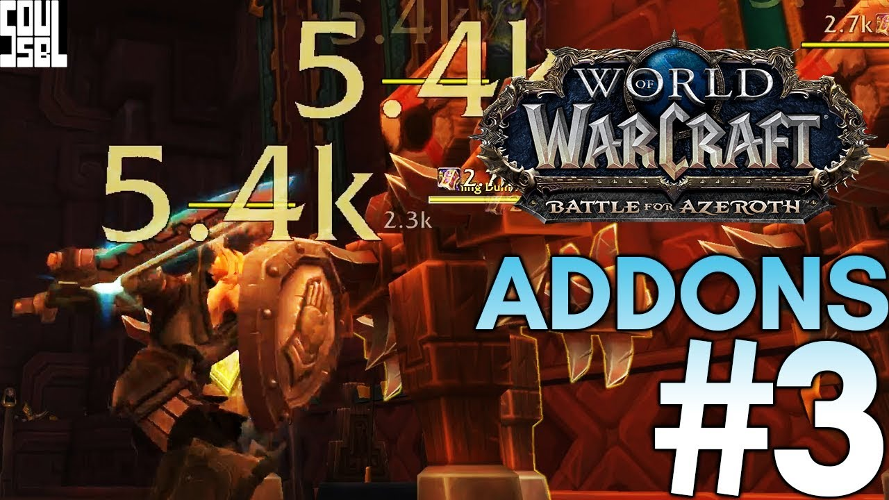 Combat Text, Information or Immersion? World of Warcraft Addons #3