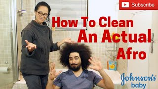 How to Clean an Actual Afro