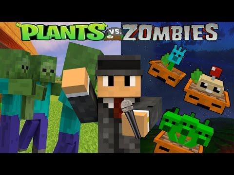Minecraft : Plant Vs Zombie Series # 11 การทดสอบปล่อยซอมบี้รอบที่ 2