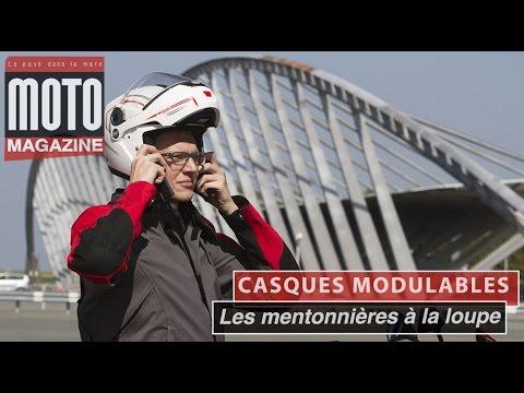 Casques Moto Modulables Louverture Des Mentonnières En Détail