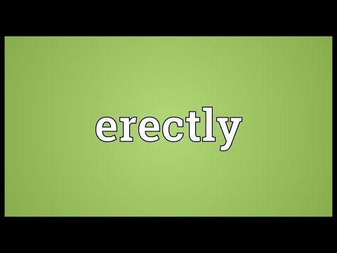 Header of erectly