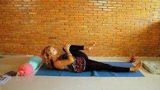 Йога для кайтеров - Вытяжение мышц спины(, 2014-03-03T19:26:59.000Z)