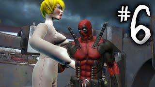"Deadpool Gameplay Walkthrough Part 6 - ""THE BIG BOOT!"" (Deadpool PS3/Xbox 360/PC)"