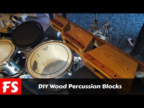 DIY Percussion Blocks (FS Woodworking)