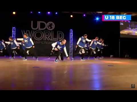 La escuela Gravitty queda séptima en el Udo Street Dance Championship