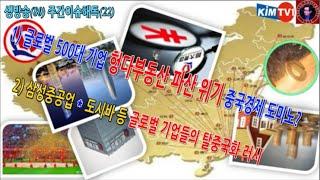 1) 글로벌 500대 기업 헝다부동산 파산 위기 중국경…
