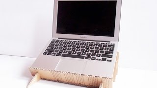 How To Build A Useful Laptop Stand And Organizer - Diy Home Tutorial - Guidecentral