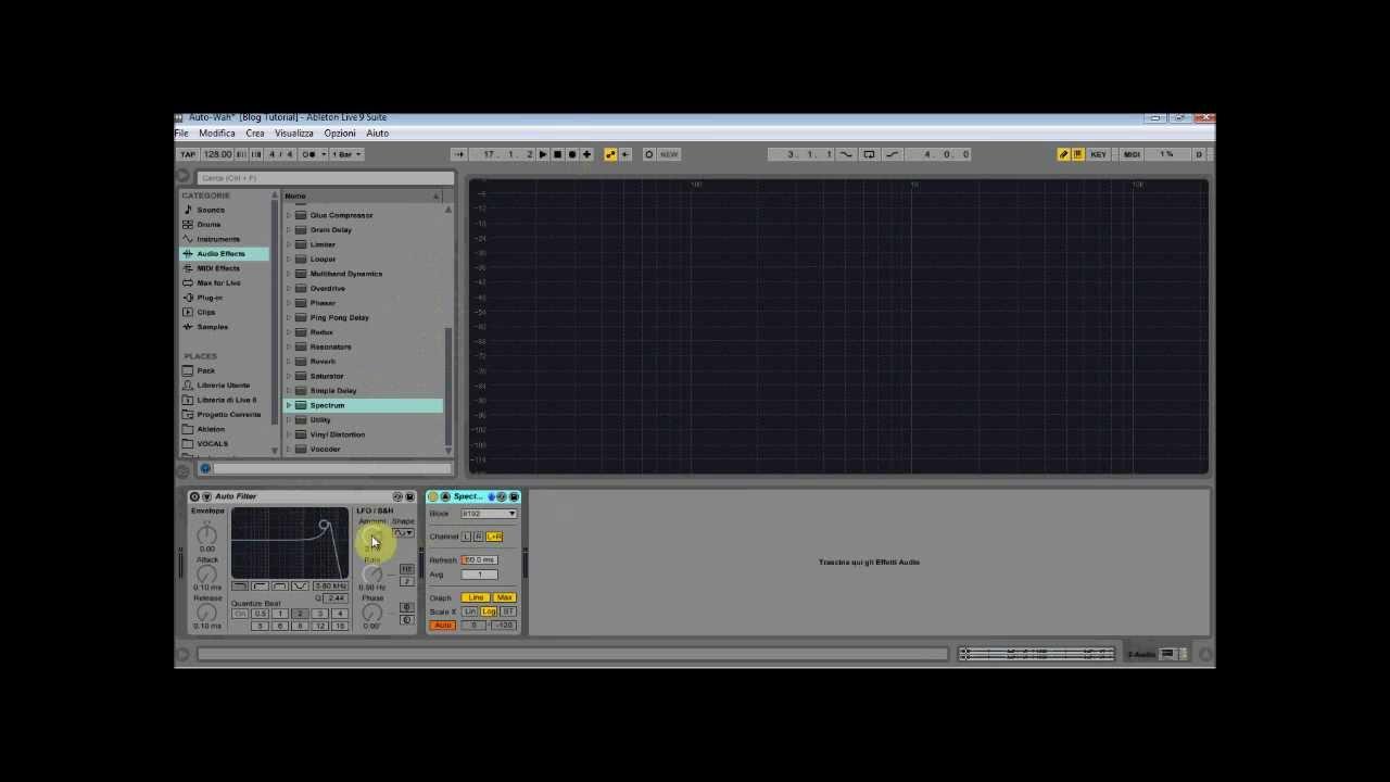 Schema Elettrico Wah Wah : Realizzare un effetto u cwah wahu d in ableton live video tutorial