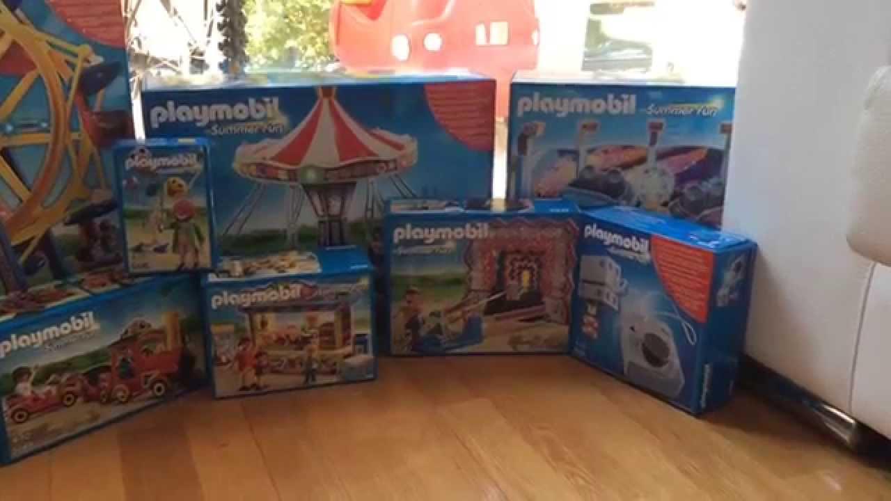 Playmobil Atracciones ¡al Con El Parque De Jugamos Completo 0nwm8N