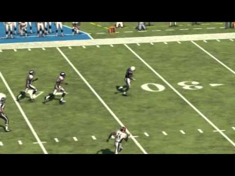 Broncos/Chargers Highlight 1